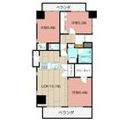 THE SQUARE・Suite Residenceの間取り画像